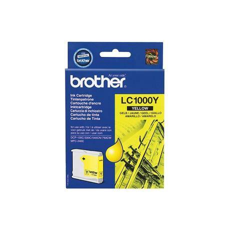Brother LC1000 cartuș de cerneală originală galbenă