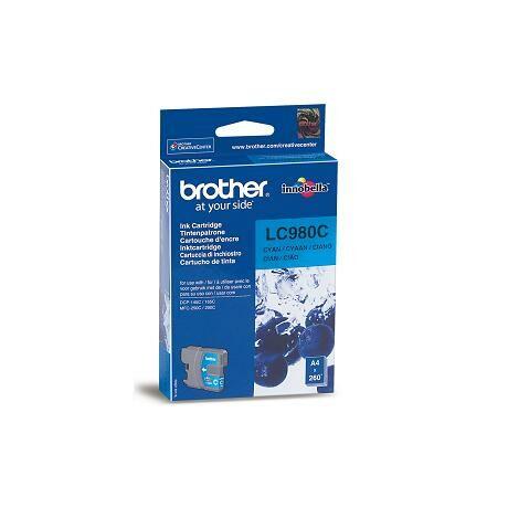 Brother LC980 cartuș de cerneală originală albastră
