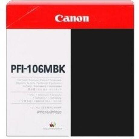 Canon PFI-106 cartuș de cerneală originală mat neagră