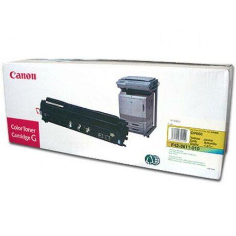 Canon CP660 toner original galben