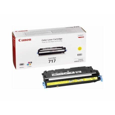 Canon CRG-717 toner original galben