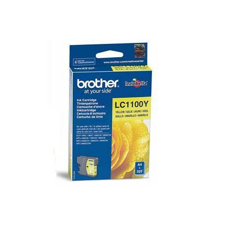 Brother LC1100 cartuș de cerneală originală galbenă