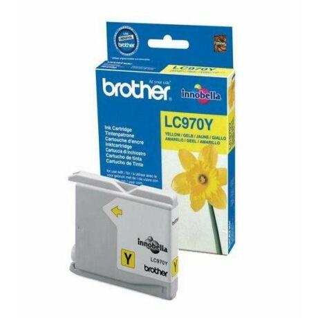 Brother LC970 cartuș de cerneală originală galbenă