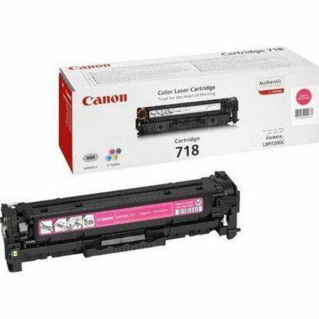 Canon CRG-718 toner original purpuriu