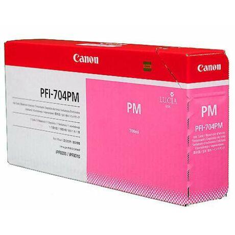 Canon PFI-704PM cartuș de cerneală originală foto magenta